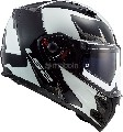 Каска LS2 FF324 METRO SUB WHITE BLACK -XL-